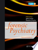 Forensic Psychiatry book