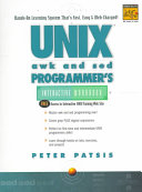 Unix Awk And Sed Programmer S Interactive Workbook