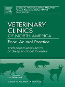 Therapeutics and Control of Sheep and Goat Diseases, An Issue of Veterinary Clinics: Food Animal Practice - E-Book