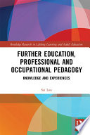 Further Education  Professional and Occupational Pedagogy