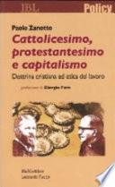 Cattolicesimo  protestantesimo e capitalismo