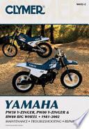 Yamaha PW50 Y Zinger  PW80 Y Zinger and BW80 Big Wheel 81 02