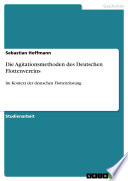 Die Agitationsmethoden des Deutschen Flottenvereins
