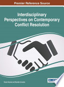 Interdisciplinary Perspectives on Contemporary Conflict Resolution