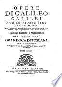 Opere di Galileo Galilei