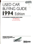 Used Car Buying Guide 1994