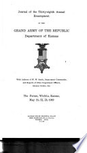 Journal of the     Annual Encampment of the Grand Army of the Republic  Department of Kansas