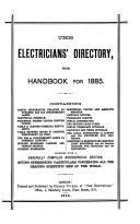 The Electricians Directory Afterw The Electrician Electrical Trades Directory And Handbook Afterw The Electrician Directory And Handbook Of The Electrical Engineering And Allied Trades Afterw The Blue Book Afterw The Electrician Blue Book Afterw Electrica