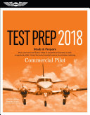 Commercial Pilot Test Prep 2018