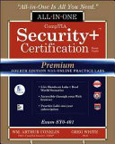 Comptia Security Certification All In One Exam Guide Premium Fourth Edition With Online Practice Labs Exam Sy0 401
