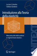 Introduzione alla Teoria della elasticit
