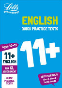 11  English Quick Practice Tests Age 10 11 for the GL Assessment Tests