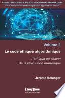 illustration du livre Le code éthique algorithmique