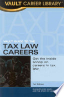 Vault Guide to Tax Law Careers