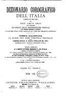 Dizionario corografico dell Italia
