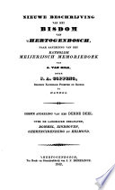 Nieuwe beschrijving van het bisdom van 's Hertogenbosch, naar aanleiding van het katholijk Meijerijsch memorieboek van A. van Gils