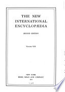 The New International Encyclopaedia