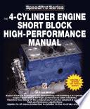 The 4 Cylinder Engine Short Block High Performance Manual