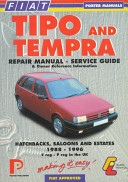 Fiat Tipo And Tempra