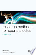 Research Methods for Sports Studies