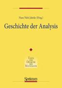 Geschichte der Analysis