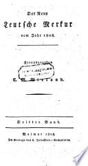 Der deutsche Mercur. Hrsg. von Christoph Martin Wieland