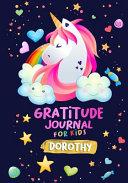 Gratitude Journal For Kids Dorothy