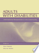Ebook Adults With Disabilities Epub Paul Retish,Shunit Reiter Apps Read Mobile