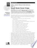 Small Grain Production Pt 11 Small Grain Cover Crops