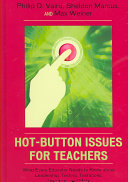 Hot button issues for teachers