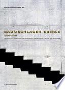 Baumschlager-Eberle 2002-2007