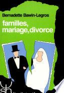 illustration Familles, mariage, divorce
