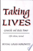 Taking Lives book