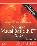 Microsoft Visual Basic  NET 2003 Unleashed