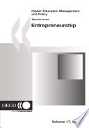 Higher Education Management and Policy  Volume 17 Issue 3 Special Issue on Entrepreneurship Book PDF