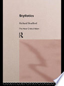 Stylistics Critical Ideas On Literary Style And