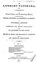 The Literary Panorama : ...