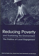Reducing poverty and sustaining the environment