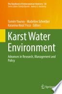 Karst Water Environment