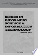 Issues in Informing Science   Information Technology  Volume 9  2012