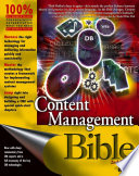 Content Management Bible book