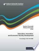 Education Innovation And Economic Society Development