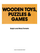 Wooden Toys  Puzzles and Games