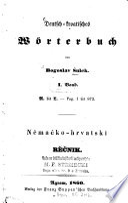Deutsch-kroatisches Wörterbuch