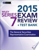 Wiley Series 7 Exam Review 2015   Test Bank