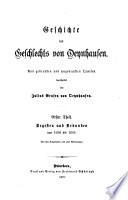 Geschichte des Geschlechts von Oeynhausen