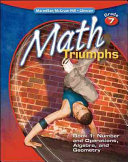 Math Triumphs  Grade 7  Student Study Guide  Book 1  Number and Operations  Algebra  and Geometry