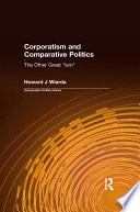 Corporatism and Comparative Politics