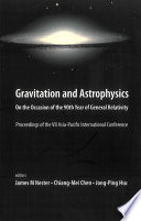 Gravitation and Astrophysics