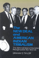 The New Deal and American Indian Tribalism